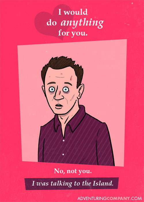 Ben LOST Valentine's Day Card