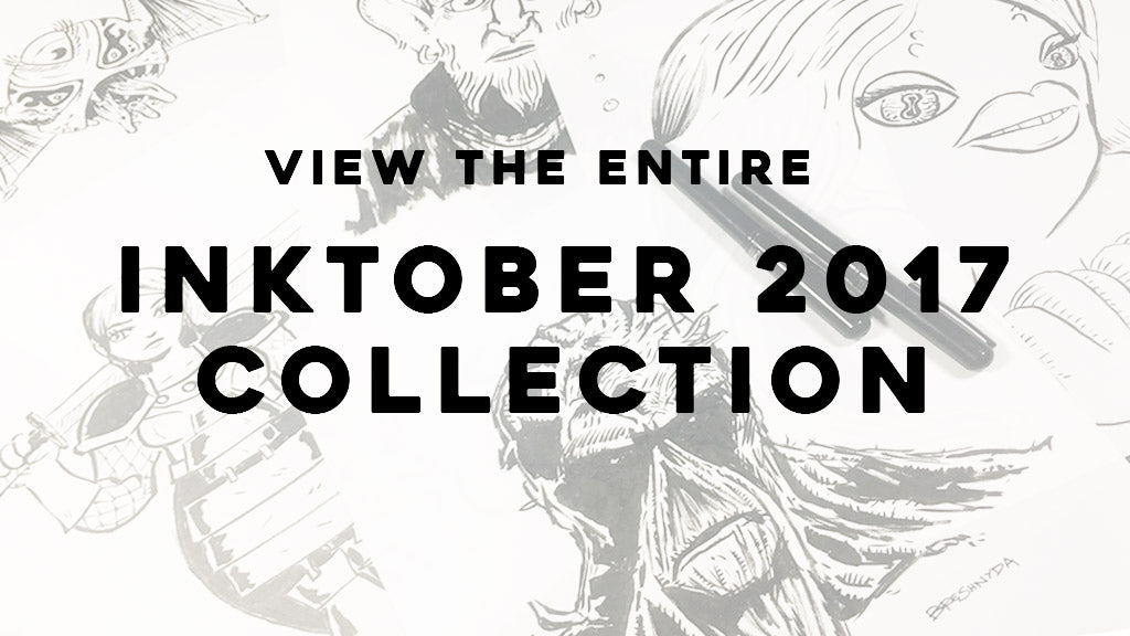 View the entire Inktober 2017 collection by Lee Bretschneider