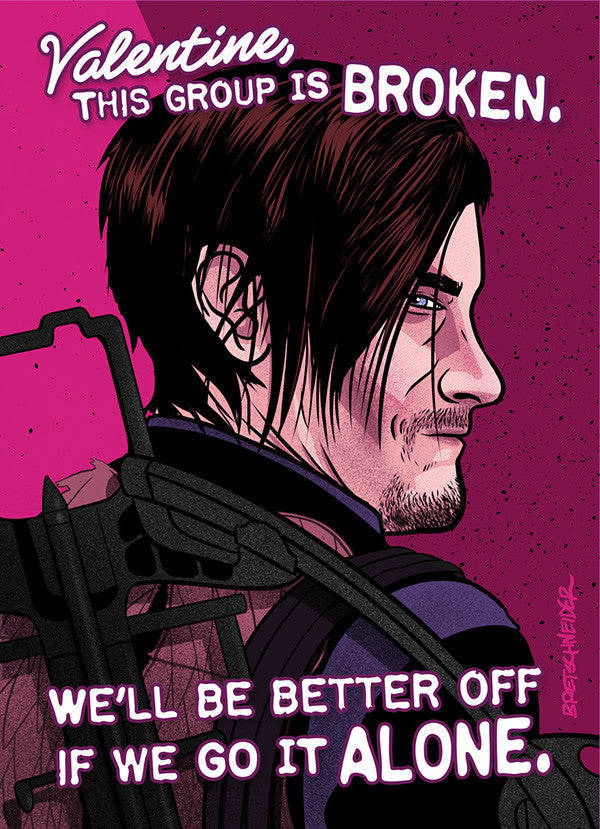 Norman Reedus as Daryl Dixon from AMC's The Walking Dead