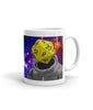 "11 oz ""d20 Astronaut"" Mug (right-side)"