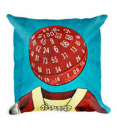 """d100 Pope"" Pillow"
