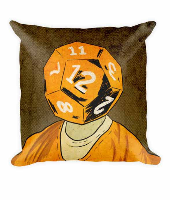 """d12"" Pillow 