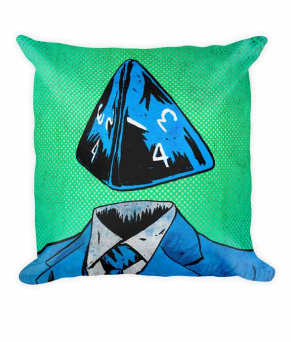 """d4"" Pillow 