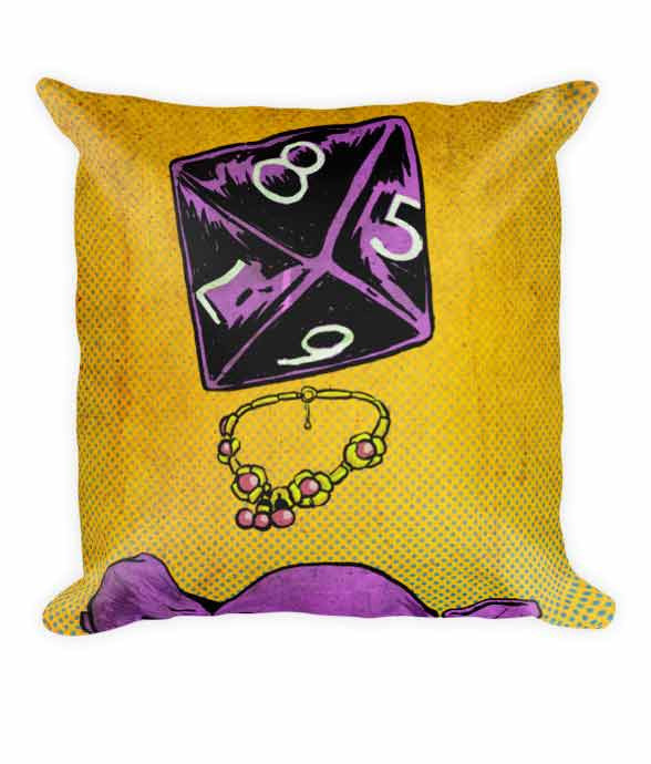 """d8"" Pillow 