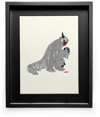 """Nathan Devouring His Son"" Art Print"