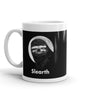 "11 oz ""Slearth"" Sloth Mug (left-side)"