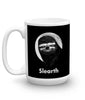 "15 oz ""Slearth"" Sloth Mug (left-side)"