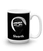 "15 oz ""Slearth"" Sloth Mug (right-side)"