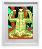 """Strong Bones"" Sloth Art Print by Lee Bretschneider"