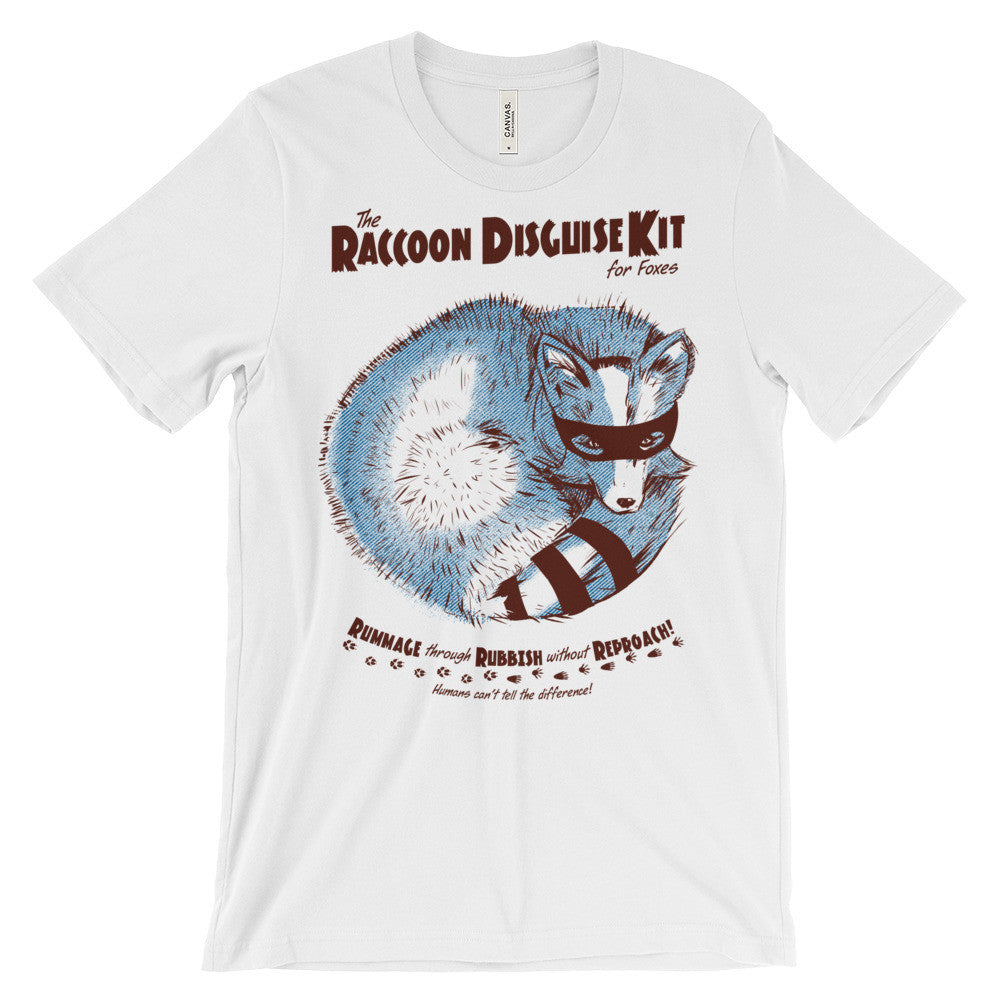 """Raccoon Disguise Kit for Foxes"" Men's T-Shirt"