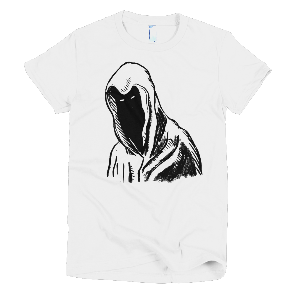 """Hooded Figure"" Women's T-Shirt"