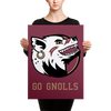 """Go Gnolls"" Canvas"