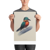 """Kingfisher"" Poster"