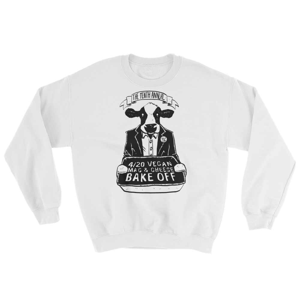 """4/20 Vegan Mac & Cheese Bake Off"" Sweatshirt"