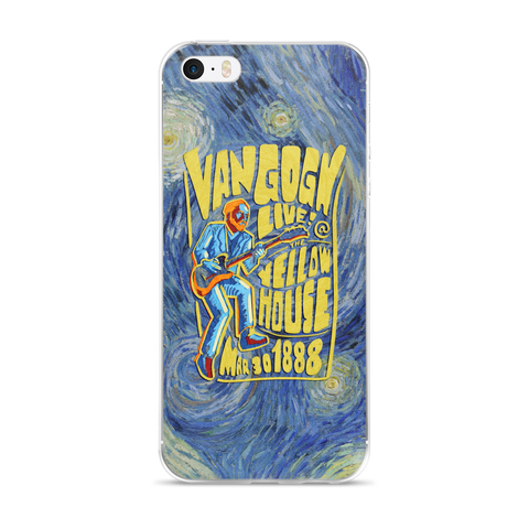 """Van Gogh Live!"" iPhone Case"