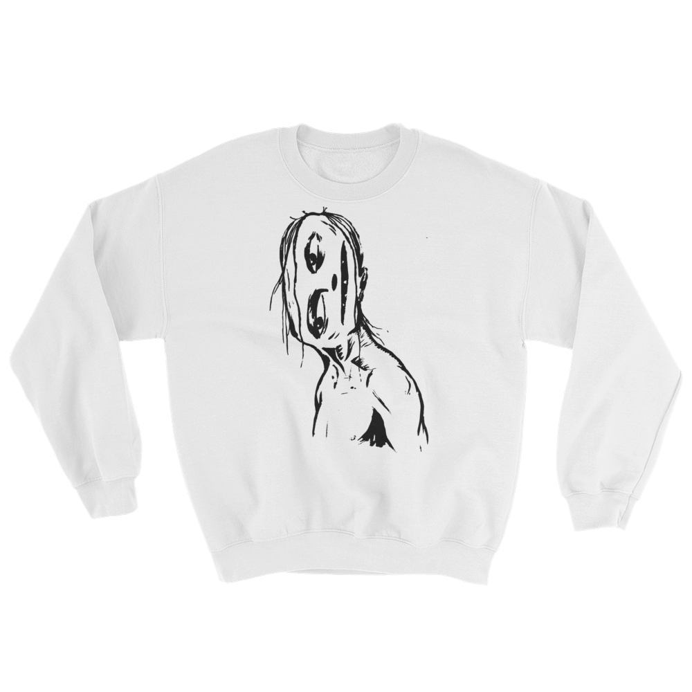 """Crooked Face"" Sweatshirt"