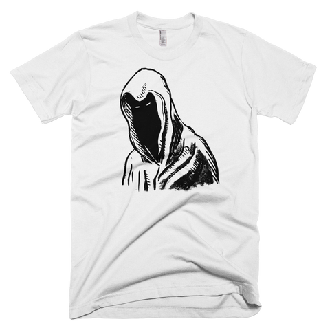 """Hooded Figure"" Men's T-Shirt"