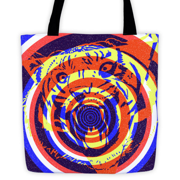 Tiger Concentric Tote Bag