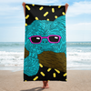"""Cool Sloth"" Towel"