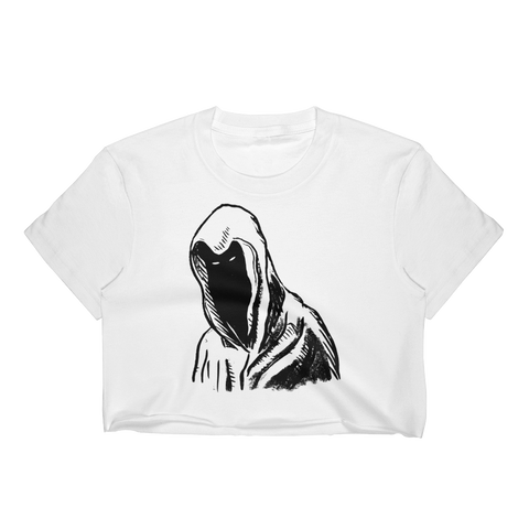 """Hooded Figure"" Crop Top"