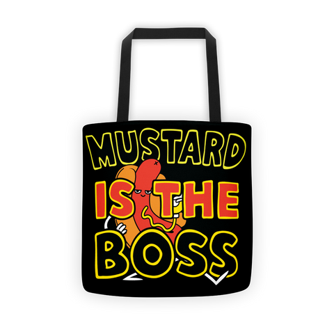 """Mustard Is The Boss"" Tote bag"
