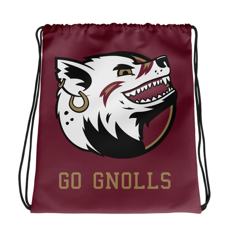 """Go Gnolls"" Drawstring Bag"