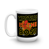"""Mustard Is The Boss"" Mug"
