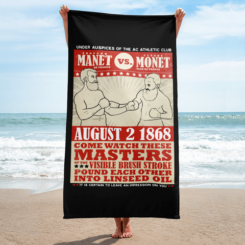 """Manet vs. Monet"" Towel"