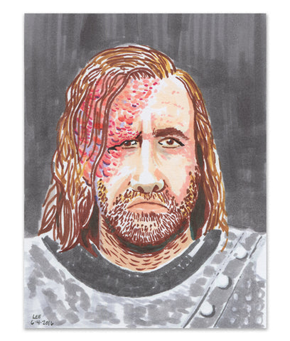 """The Hound"" Marker Sketch"