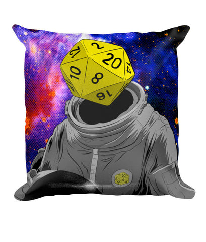 """d20 Astronaut"" Pillow"