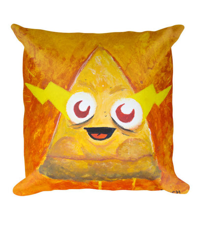 """Furious Pizza"" Pillow"