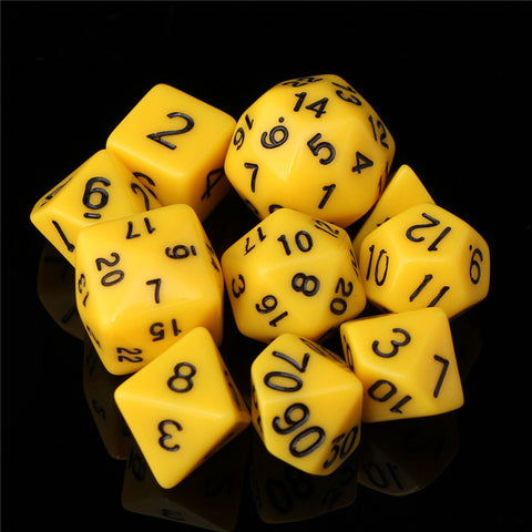 Polyhedral Dice Set