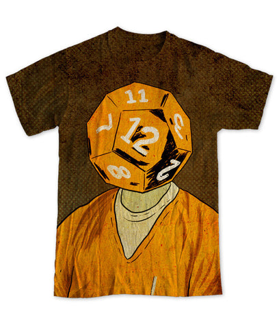 """d12"" Men's Allover Print T-Shirt"