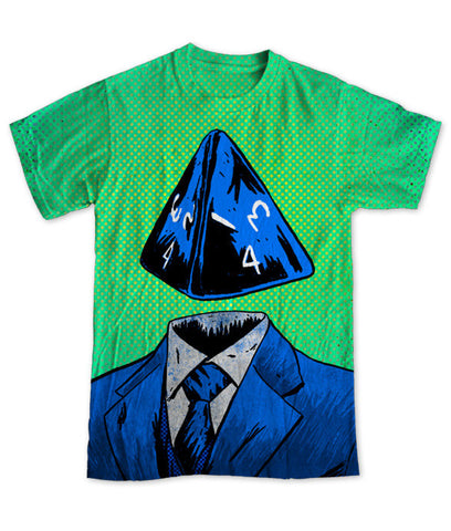 """d4"" Men's Allover Print T-Shirt"