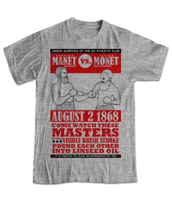 """Manet vs. Monet"" Classic Fit T-Shirt"