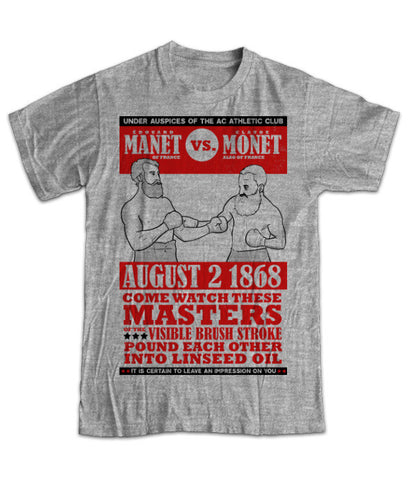 """Manet vs. Monet"" Men's T-Shirt"