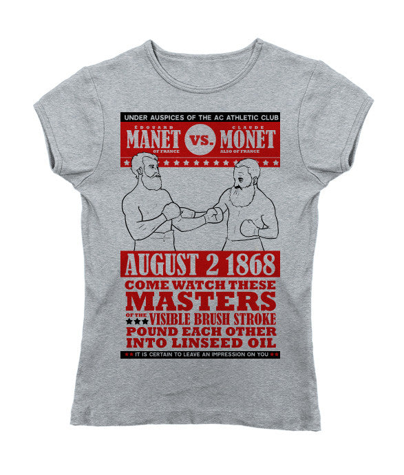 """Manet vs. Monet"" Women's T-Shirt"