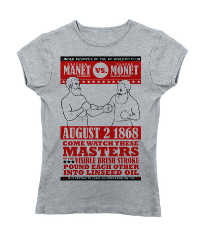 """Manet vs. Monet"" Slimfit T-Shirt"