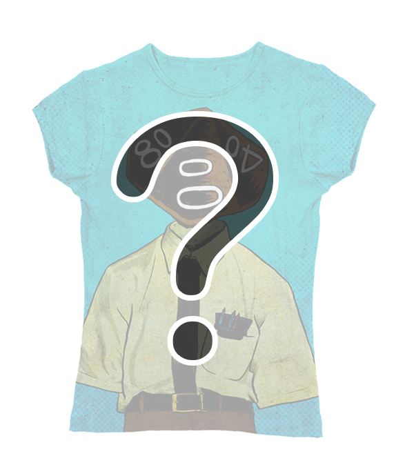 "Mystery ""Roll Play""Slimfit T-Shirt"