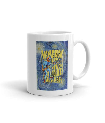 """Van Gogh: Live At The Yellow House"" Mug"