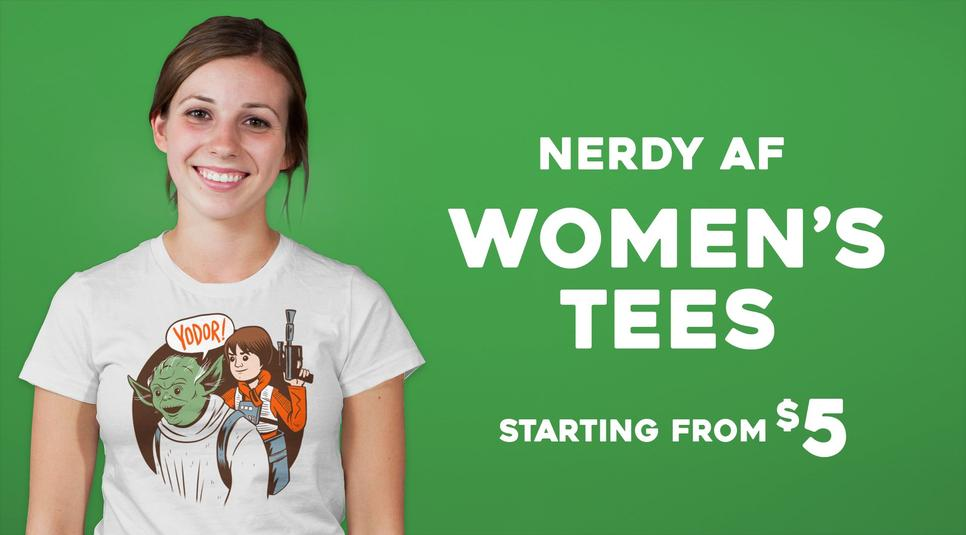 Nerdy af Short Sleeve, Long Sleeve, Crop and Tank Tops for Women
