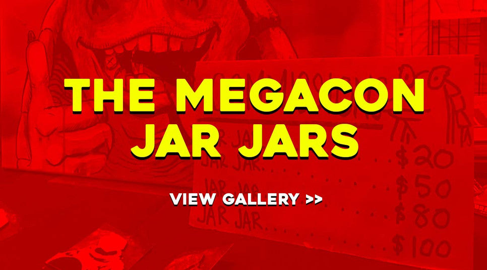 The MegaCon Jar Jars