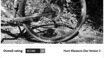 Cycling Weekly 10/10 Review - MASON x HUNT 4 Season Disc Wheelset