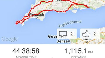 Josh Ibbett - Cycling to Lands End (and back): a weekend away