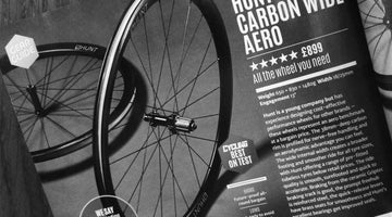 Cycling Plus Magazine 5/5 Best In Test - HUNT 38 Carbon Wide Aero