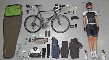 Transcontinental Race : An overview of Josh Ibbett 's race winning bike setup