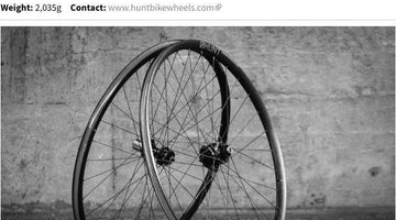 Road.cc 4.5/5 Review - HUNT SuperDura Dynamo Disc Wheelset