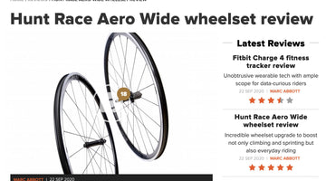 Cyclist 5/5 Review - HUNT Race Aero Wide Wheelset