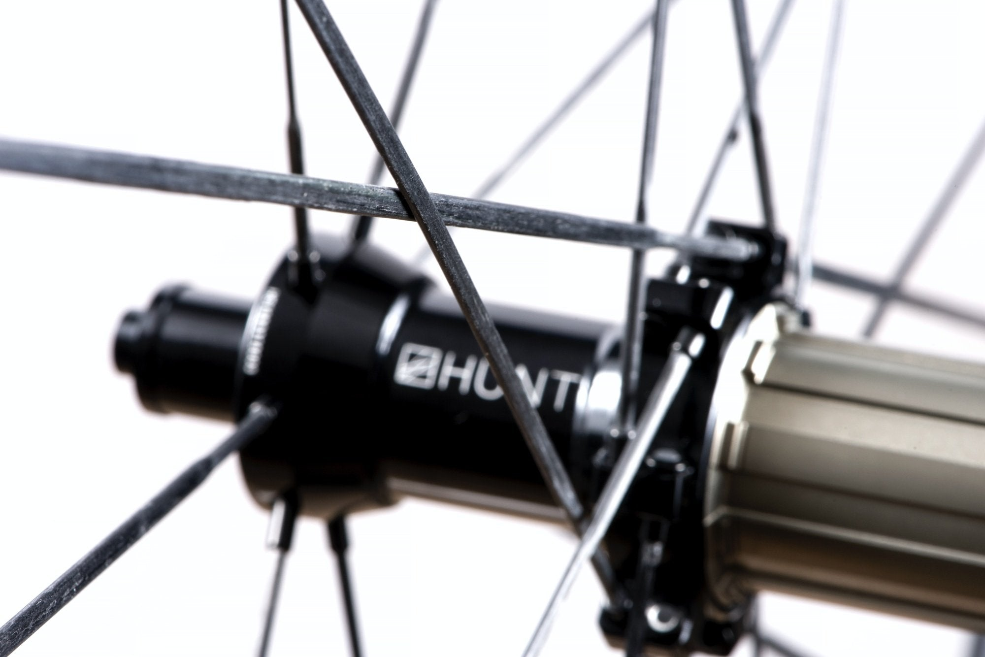 <h1>Spokes</h1><i>Incredibly strong (achieving over 450kgf per spoke) TaperLock UD carbon spokes offering 30% increase in stiffness against steel ones. Only 2.7g per spoke. Due to the TaperLock technology, these spokes can be trued easily using a spoke key from within the rim bed.</i>