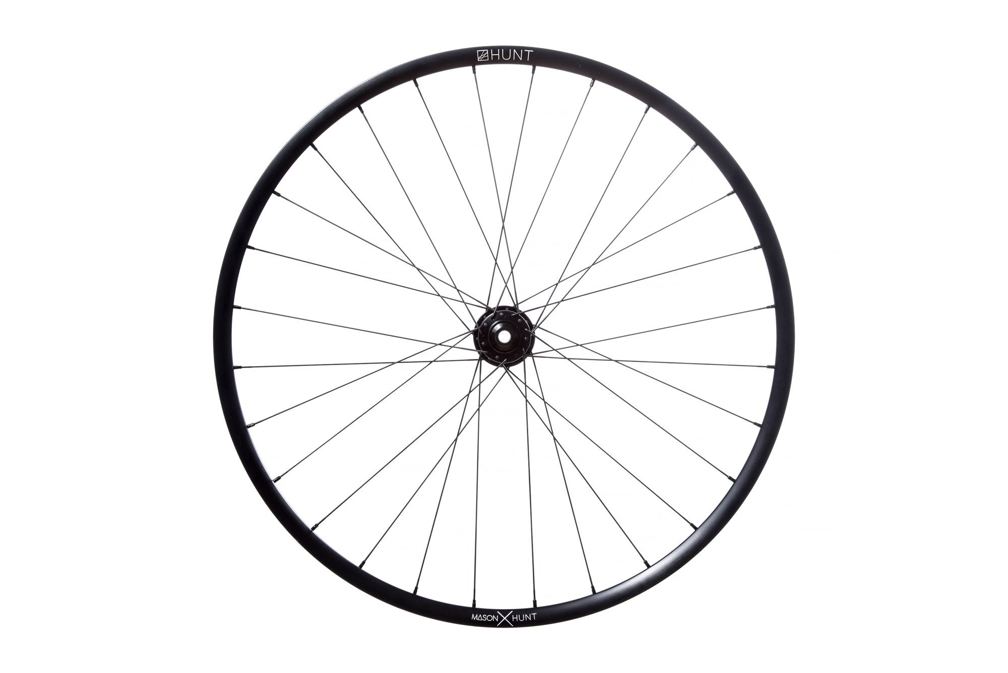 <h1>Rims</h1><i>Strong and light 6066-T6 (+34% tensile strength vs 6061-T6) heat-treated rim features an asymmetric shape which is inverted from front to rear to provide balanced higher spoke tensions meaning your spokes stay tight for longer. The profile is disc-specific, allowing higher-strength to weight as no reinforcement is required for a braking surface. The extra wide rim at 29mm (25mm int) creates a great tire profile with wider 35c+ tyres, giving excellent grip and lower rolling resistance.</i>